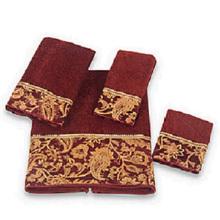 White Terry Towel Set 100% Baumwolle Handtücher