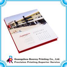 Calendario caliente de la Navidad de la tabla de la impresión a todo color de la caliente-venta de China