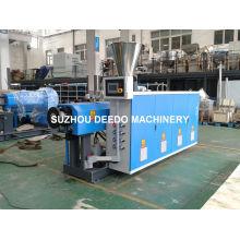 Máquina de extrusão de parafuso duplo de tubo de plástico PVC
