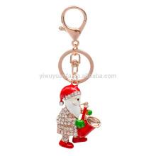 New Christmas Santa Claus Keychain