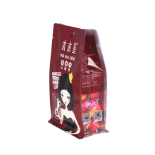 Window Box Pouch for Snacks Packaging