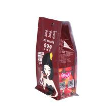 Bolsa de caixa de janela para embalagem de petiscos