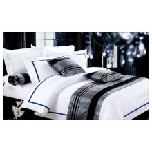 200-400T Egyptian Cotton pure white hotel bed linen