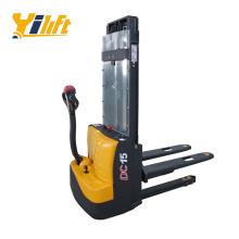 Yi-Lift design electric forklift 1.5 ton walkie type electric stacker