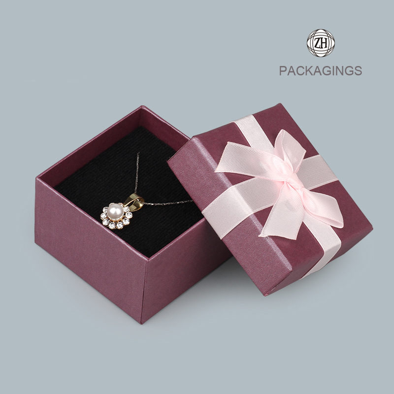 Customized luxury ring paper box for cardboard