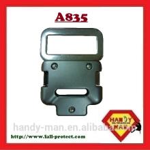 A835 Fivela de liberação rápida de alumínio