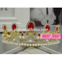 Stirnbänder für Jungen Kleid kundenspezifische Prinzessin Hochzeit Tiara
