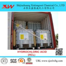 30% 32% d'acide chlorhydrique HCL dans l'extraction de l'or