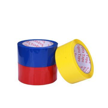 Акриловая красная ПВХ лента для запечатывания коробок