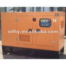 Бесшумный дизельный генератор мощностью 15 кВт