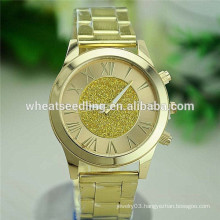 Tope sale new design vogue gold watch cheap