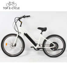 New design 500W rear wheel motor electric bicycle beach cruiser electric bike