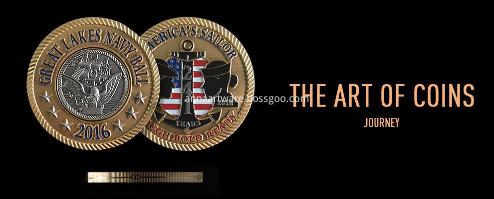 Anna Artwares Custom Metal Coin 01