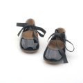 Vestir Crianças Soft Leather Toddler Girls Baby Shoes