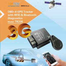 3G / 4G OBD2 GPS Satelliten-Tracking-System mit Wireless-System, Notabschaltung (TK228-KW)