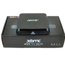 Высокое качество M8s + с Amlogic S812, 2 ГБ, 8 ГБ Google андроид 5.1 системы, Dts, Dolby, 4 k Video,3D,H.265,Quad Core Отт TV Box Интернет телеприставку с Bluetooth 4.0