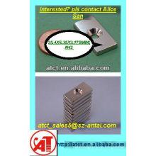 Magnet mit Schraube Loch/Magnete für Schrank Türen/industrielle Magnete