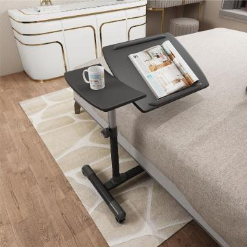 Pivot & Tilt Overbed Table dengan roda