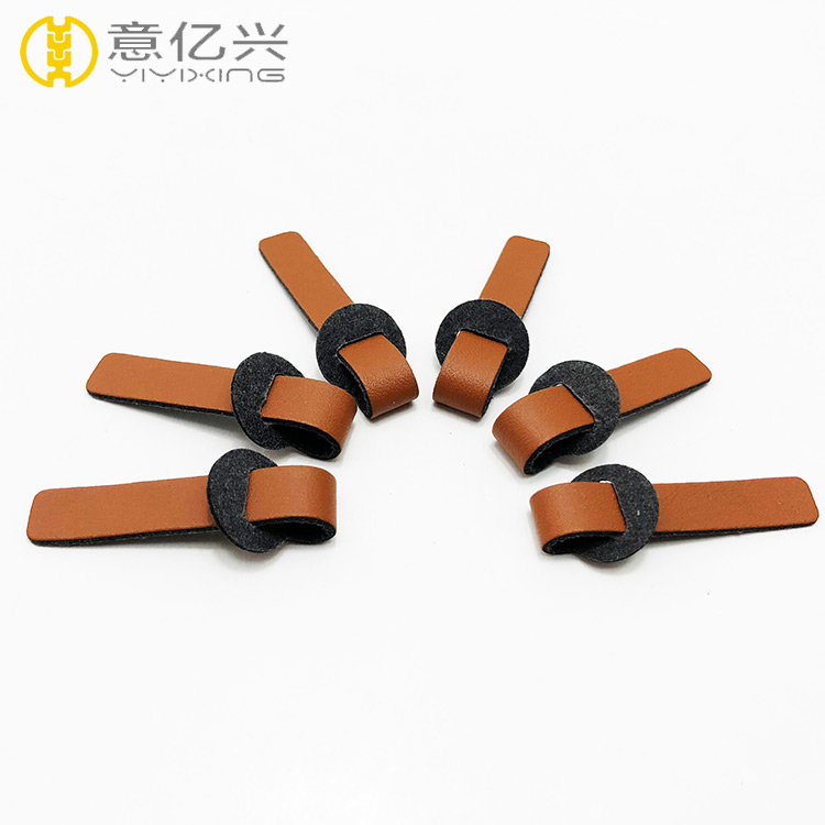 Leather Branded Zipper Puller