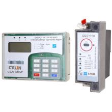 DIN Rail Mounting Keypad Split Energy Meter (wireless RF communication)