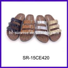 Las últimas sandalias de las señoras diseñan sandalias de las señoras sandalias al por mayor de China
