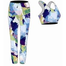 Desgaste colorido sexy da ioga do Bodybuilding do OEM por atacado para mulheres