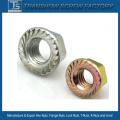 DIN6923 Carbon Steel Hex Flange Nut