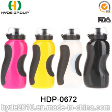 2017 New Products BPA Free Plastic Sport Bottle with Straw, PE Plastic Sport Water Bottle (HDP-0672)