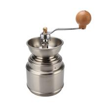 Manuelle Kaffeemühle Edelstahl verstellbare Mühle