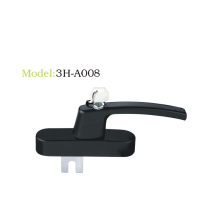 Multi-point lockable handle series take the key