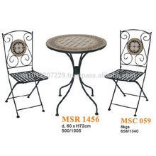Conjunto de muebles de mosaico - Set de bistro