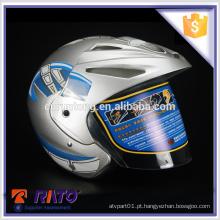 Capacete de cabeça cheia de moto bonito ABS