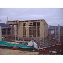 Günstige Galvanisierte Starke temporäre Bau Zaun