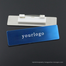 Factory Wholesale Customized Stainless Steel Printing Logo Brand Name Plates ID Tag Template
