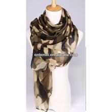 Stylish cheap scarf camouflage