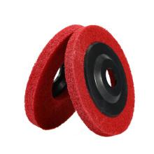 100*12mm Abrasive Tools Fiber Polishing Wheel Nylon Polish Disc