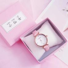 Pink Luxury Watch Box Square Elegant Girls