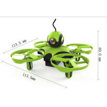 Mini RC Drone BNF Com Flysky Receiver