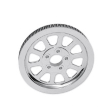 Wholesale New Design Motorcycle Pulley Parts Aluminum Drive Belt Pulley for Harley Davidson
