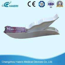 Grapadora de piel desechable para sutura