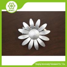 Clips de la cortina del diseño de la flor de la decoración de la manera