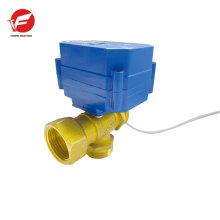 12V электрический моторизованный шариковый клапан привода