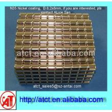 D8.2x8-Nickel-Beschichtung-Magnet-Produzenten