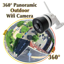 Wide Angle Onvif Wireless Wifi Enabled IP Camera