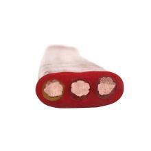 6 cabo liso do trole do pendente liso do núcleo flexível liso