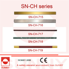 Elevator Cabin Handrail with Various Kind of Shape (SN-CH-715)