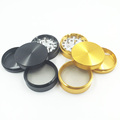 Top Quality Smoke Herbal Smooth Grinder with Hand Muller (ES-GD-006-M)