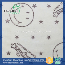 Printed PET Spunbond Nonwoven Fabric