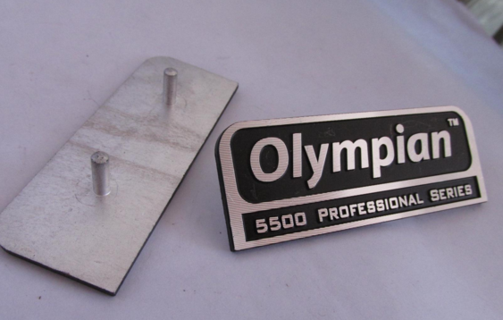 Well-made Buckle Foot Nameplate