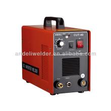 Inverter DC IGBT portable air plasma cutter for sale CUT-40,60